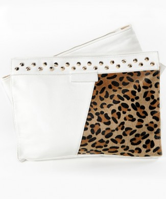 BOLSO TWO BODIES CLUTCH BLANCO