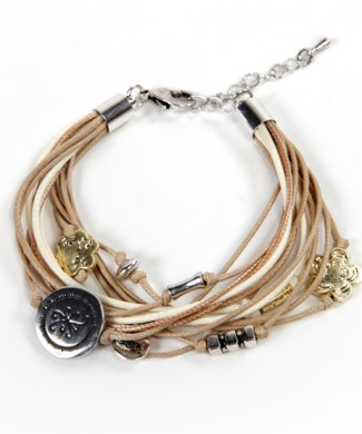 PULSERA BB NECK BEIGE